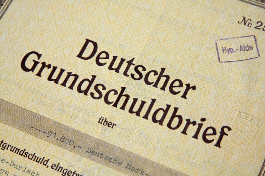 Deutscher Grundschuldbrief